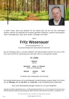 Fritz Wesenauer