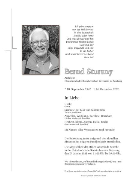Bernd Sturany