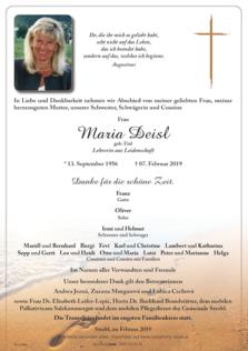 Maria Deisl