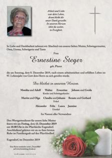 Ernestine Steger