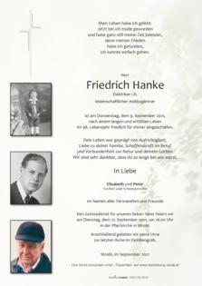 Friedrich Hanke