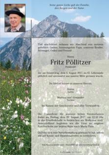 Fritz Pöllitzer