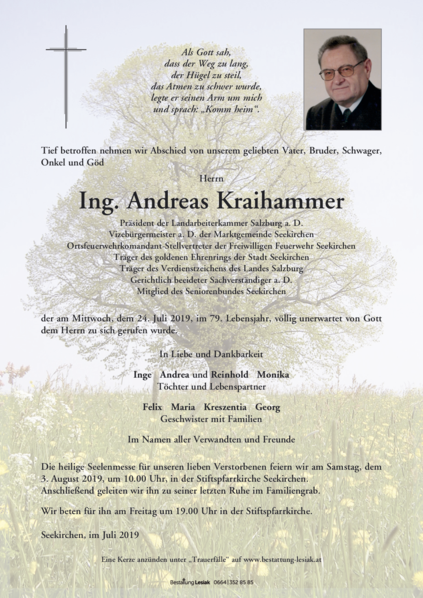 Ing. Andreas Kraihammer