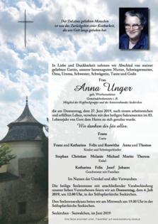 Anna Unger