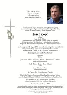 "Josef Zopf ""Zoppl"""