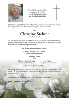 Christine Stehrer