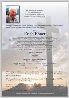 Erich Ebner