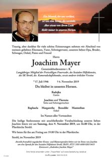 Joachim Mayer