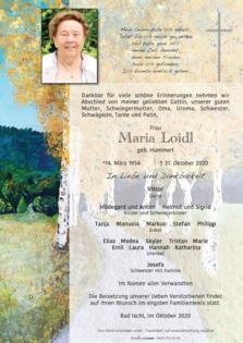 Maria Loidl