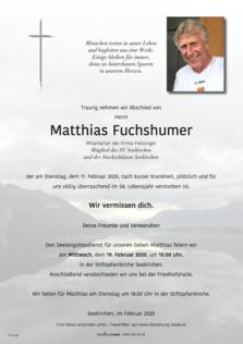 Matthias Fuchshumer