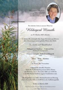 Hildegard Minuth