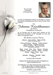 Johanna Kriechhammer