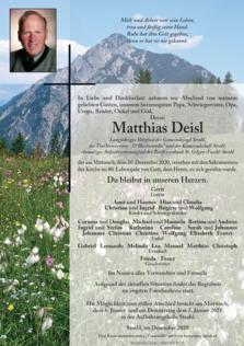 Matthias Deisl