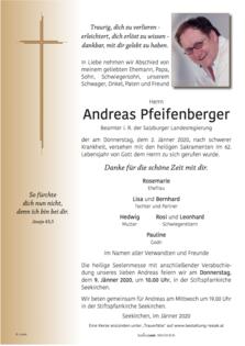 Andreas Pfeifenberger