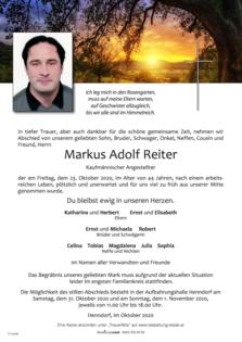 Markus Adolf Reiter