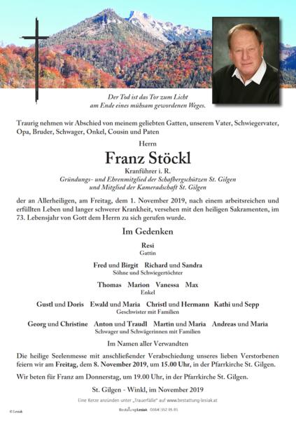 Franz Stöckl
