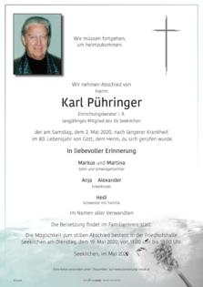 Karl Pühringer