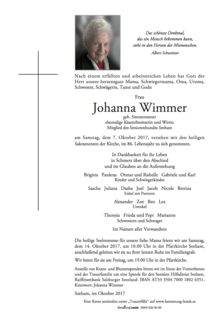 Johanna Wimmer