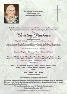 Christine Plackner