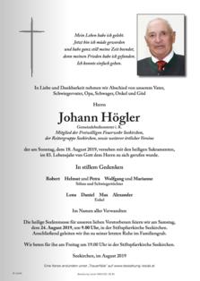 Johann Högler