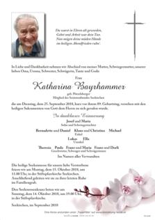 Katharina Bayrhammer