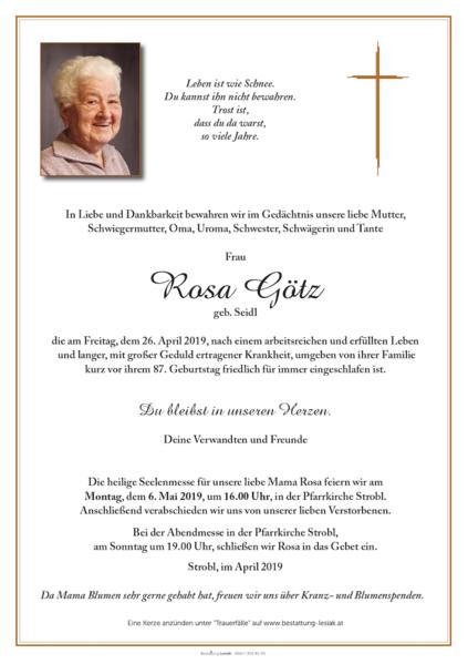 Rosa Götz