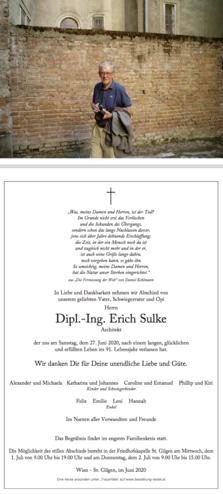 Dipl.-Ing. Erich Sulke