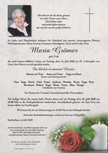 Maria Grömer