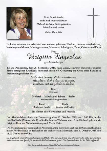 Brigitte Fingerlos