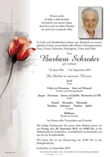Barbara Schreder