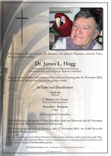 Dr. James L. Hogg