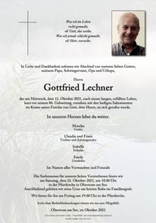Gottfried Lechner