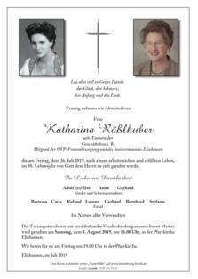 Katharina Rößlhuber