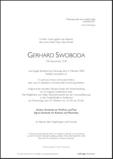 Gerhard Swoboda