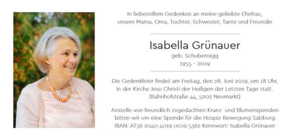 Isabella Grünauer