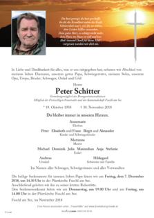 Peter Schitter