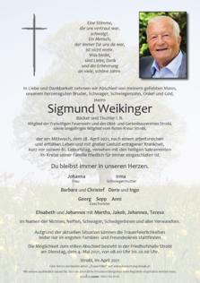 Sigmund Weikinger