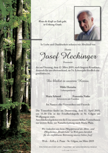 Josef Hechinger