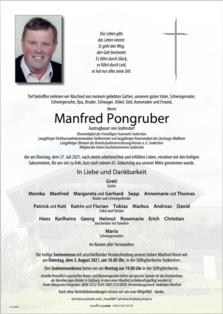 Manfred Pongruber
