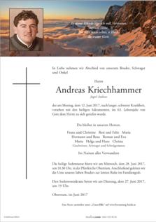 Andreas Kriechhammer