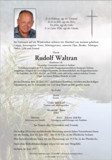Rudolf Waltran