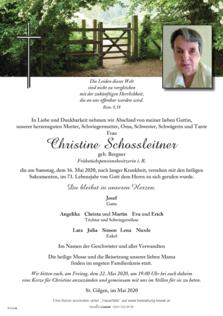 Christine Schossleitner