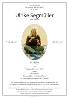 Ulrike Segmüller