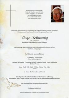 Inge Schwanig