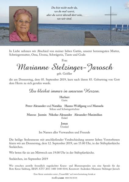 Marianne Stelzinger-Jarosch