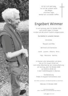 Engelbert Wimmer