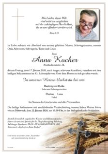 Anna Kocher