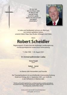 Robert Scheidler