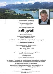 "Matthias Grill ""Hoss"""