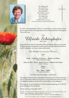 Elfriede Schörghofer